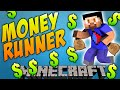 Minecraft MONEY RUNNER #1 with Vikkstar, Preston, Woofless & Kenny Minecraft Mini Game