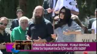 Halit Ergenc...His mother's funeral 15/5/2014