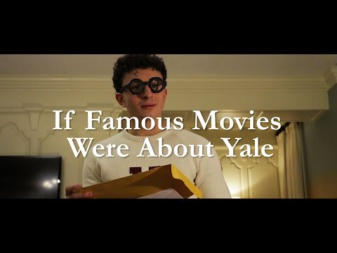 If Famous Movies Were About Yale | Harvard - Yale Game 2016