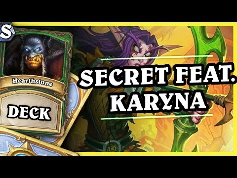 OUT OF META SECRET FEAT. KARYNA HUNTER - Hearthstone Deck St