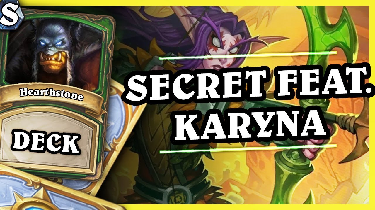 OUT OF META SECRET FEAT. KARYNA HUNTER – Hearthstone Deck Std (K&C)