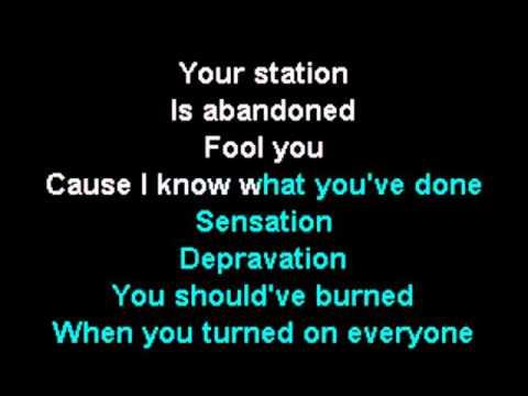 Slipknot - The Devil in I (Karaoke Instrumental) On Screen Lyrics