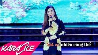 Xin Trả Lại Thời Gian Karaoke Beat - Đào Anh Thư | Bolero Nhạc Vàng