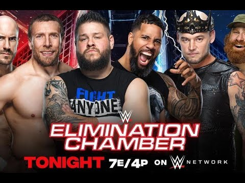 WWE Elimination Chamber 2021 Results: Winners, Grades ...