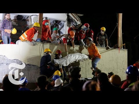 School Collapses in Mexico Earthquake