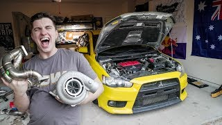 STARTING THE BIG TURBO EVO BUILD!