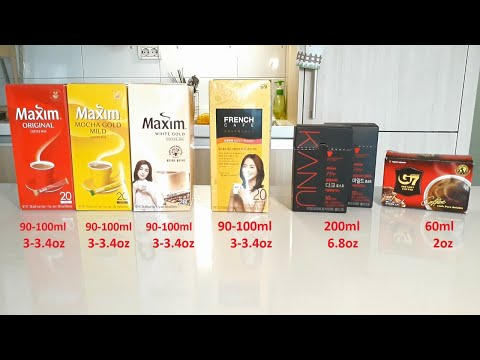 Korean Instant Coffees Review