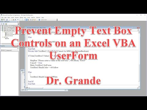 Preventing Empty Text Box Controls On An Excel VBA UserForm