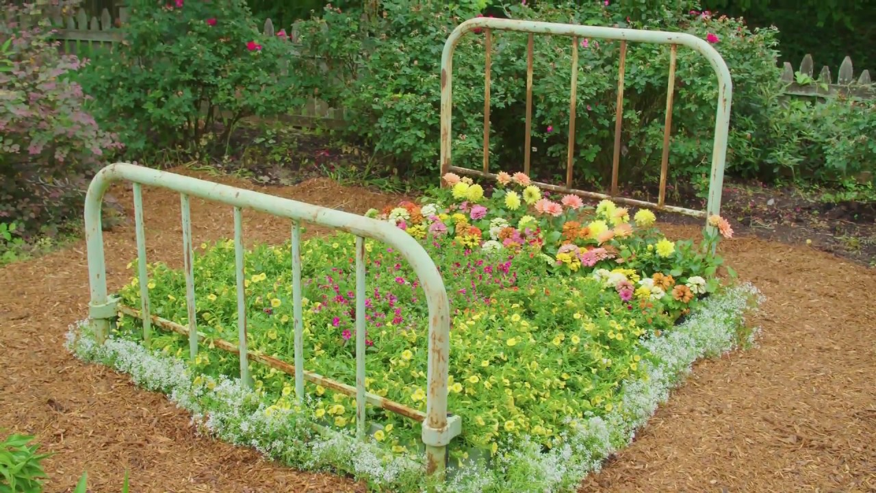 Diy Bed Frame Flower Bed Diy Network Youtube