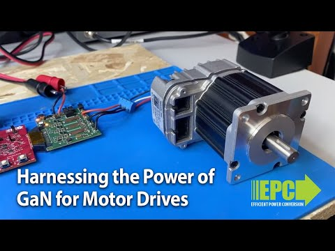 How to Reduce Audible Noise in Motor Drive Designs Using GaN Transistors and ICs