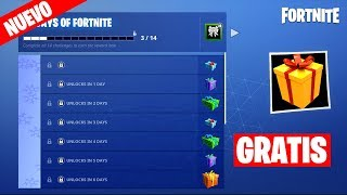 FORTNITE gives 7 free gifts by Christmas!! (Event Christmas Fortnite)