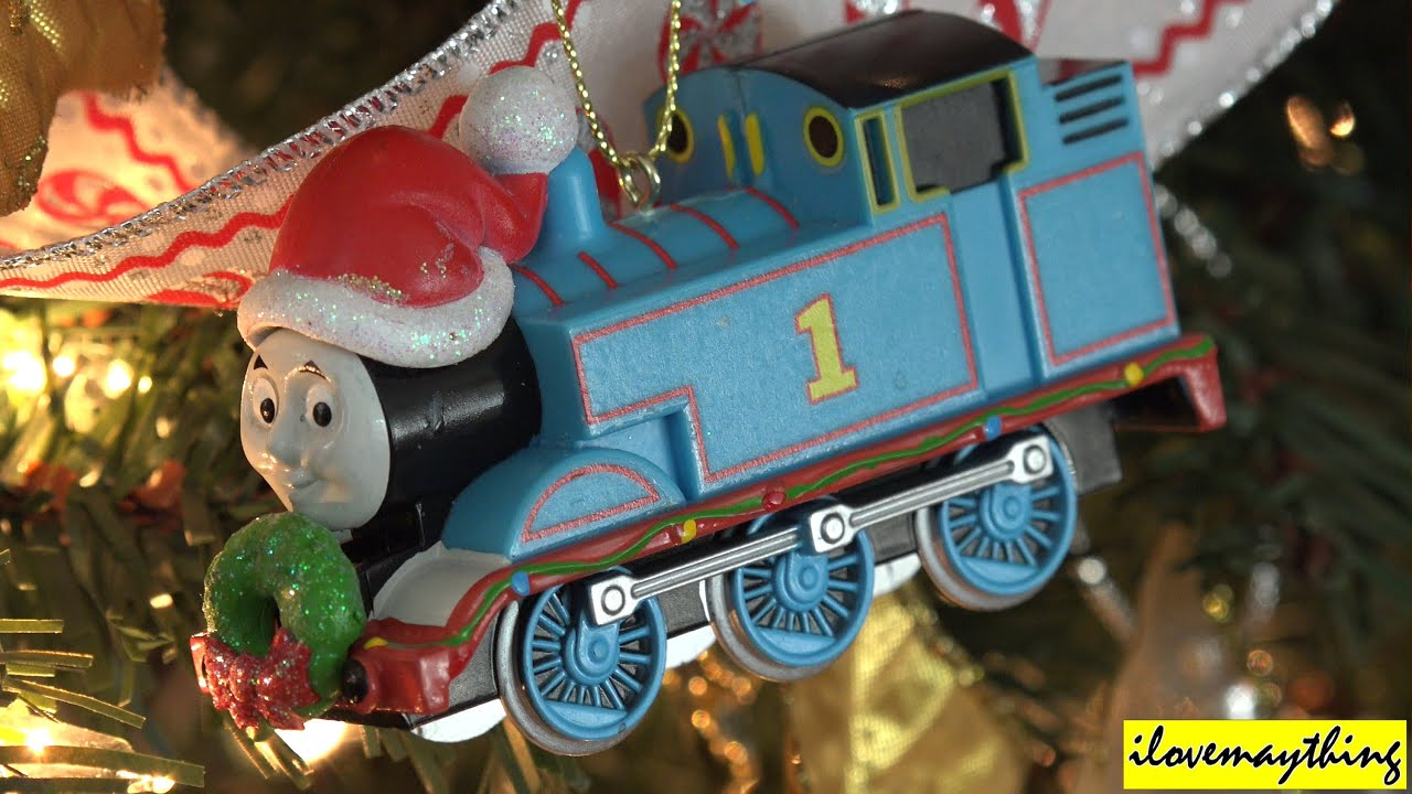 Thomas & Friends: Thomas the Tank Engine Christmas Ornament - YouTube