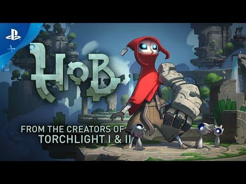 Hob - Launch Trailer | PS4
