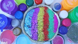 Colorful Slime Show with Glitters from Ishfi