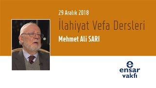 Mehmet Ali Sarı - İlahiyat Vefa Dersleri