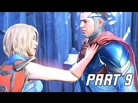 INJUSTICE 2 Walkthrough Part 9 - Last Hope of Krypton (Story Mode Let's Play)