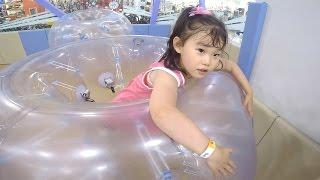거대 공을 타 보았다! 키즈스포츠클럽 챔피온 뽀로로 실내 놀이터 Indoor Playground Family Fun for Kids장난감 놀이 LimeTube & Toy 라임튜브