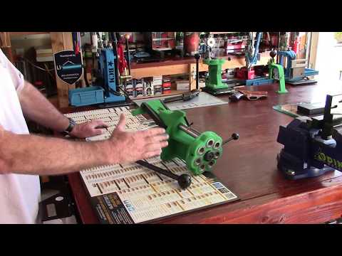 Redding T7 Turret Press, Unboxing and Bench Mounting with Inline Fabrication