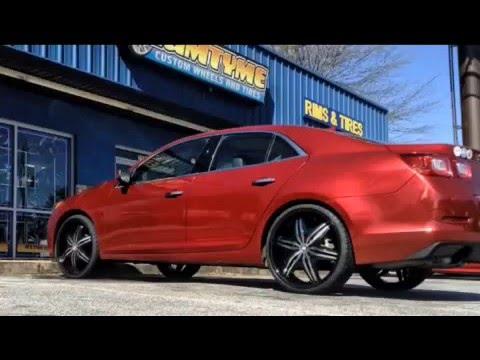 2013 Chevy Malibu On 22 Quot Big Bang Wheels Rimtyme