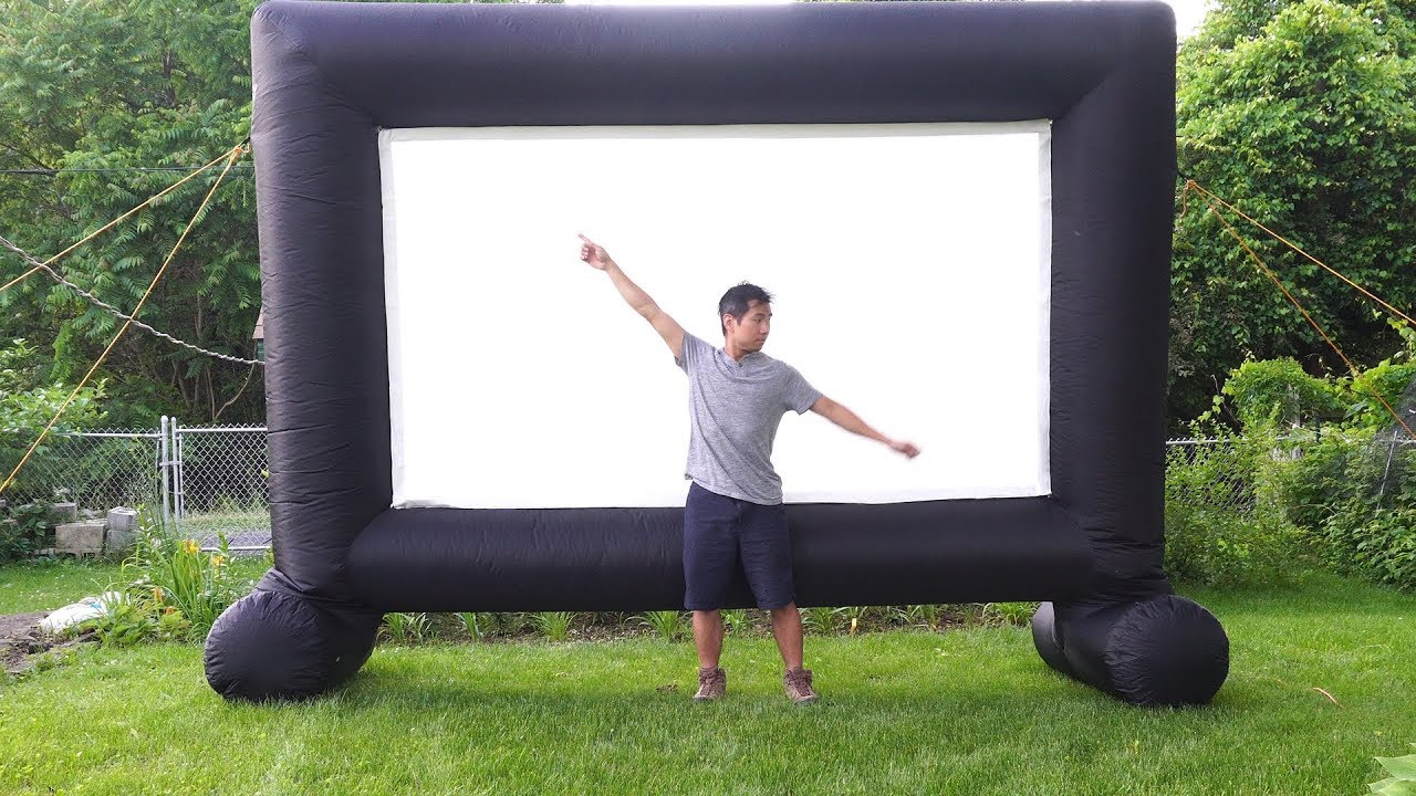 Image result for Inflatable Projector screen