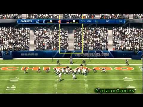NFL 2012 Season Week 1 - Indianapolis Colts vs Chicago Bears - 2nd Half - Madden NFL