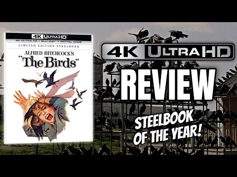 Download THE BIRDS (1963) | Alfred Hitchcock | Universal Steelbook Unboxing | 4K Movie Review!