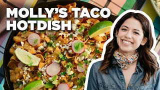 Molly Yeh's Cheesy Taco Hotdish Recipe | Food Network