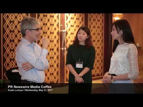 Event highlight clip of PR Newswire's Kuala Lumpur Media Coffee event on May 31, 2017