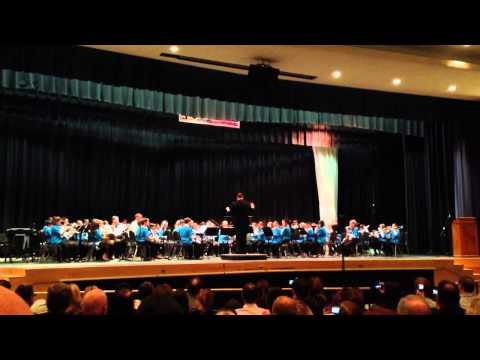 Pennsbury Honors Elementary Band - 03092013