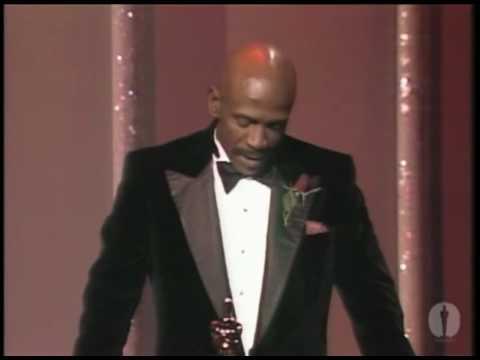 Louis Gossett Jr. Wins Supporting Actor: 1983 Oscars