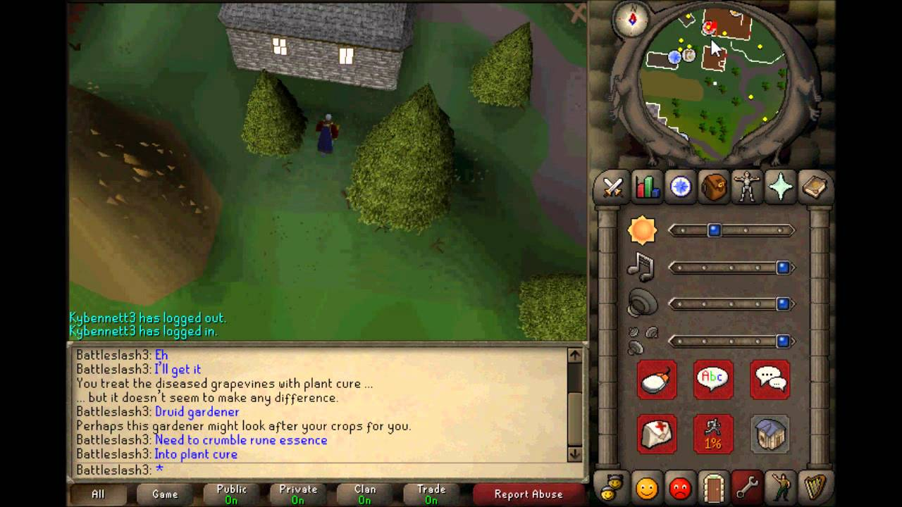 Old School Runescape Quests 86 Garden Of Tranquillity Youtube