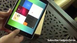 Xiaomi Mi Pad India Unboxing, Hands on, Quick Review, Comparison, Features, Price and Overview
