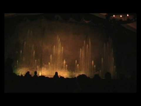 Waterorgel Efteling 25-10-2009
