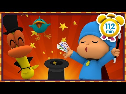 🧙♂️ POCOYO In ENGLISH - The Great Magician [112 Min]   Full Episodes   VIDEOS And CARTOONS For KIDS