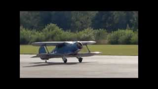 RC Staggerwing at EBZW with moki 215