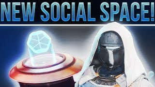 🔴 LIVE! Destiny 2 Beta. NEW SOCIAL SPACE REVEAL! (The Farm, Eververse.....And The Wall Glitch)