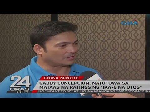 WATCH: Gabby Concepcion, hindi inasahan ang mataas na ratings ng 'Ika-6 Na Utos'