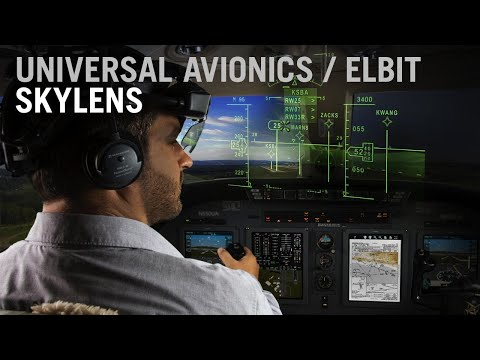 Universal-Elbit Skylens Wearable Head-Up Display – AINtv