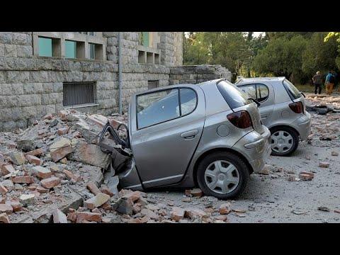 Albanie : le séisme le plus fort des 30 dernières années