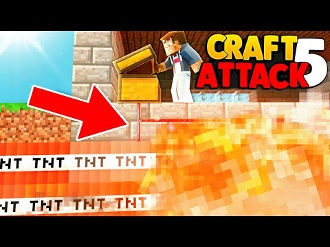 TNT FALLE AN DNER ...  MEINE RACHE! | MINECRAFT CRAFT ATTACK 5