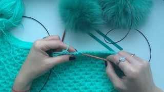 Gambar cover #20 How to knit. Knitting Tutorials. Вязание спицами Петли из кромочных. Cast on additional stitches