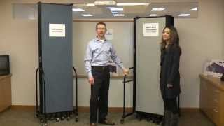 Differences Between Screenflex Heavy Duty & Freestanding Room Dividers
