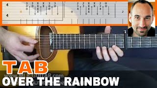 """Guitar Cover / Tab """"Over The Rainbow"""" by MLR-Guitar"""
