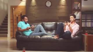 Raghav crockroach and Dharmesh comedy enjoying friendship (must watch)