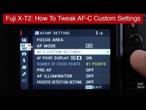Fuji X-T2 AF-C Custom Settings: How To Tweak For Fast AF Tracking
