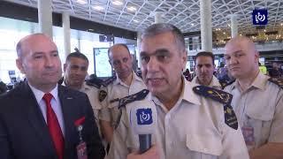 مدير عام الجمارك يقوم بزيارة تفقدية لمطار الملكة علياء - (6-6-2019)