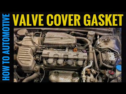 How to Replace the Valve Cover Gasket on a 2002-2005 Honda Civic with 1.7L Engine