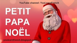 PETIT PAPA NOËL Paroles French song Little Father Christmas lyrics English translation Santa Claus