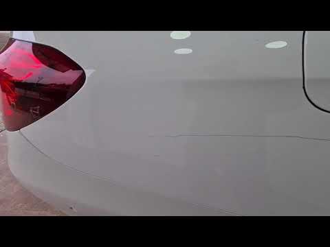 Boydan boya çizilen aracı yarım saatte boyasız, rötuşsuz nasıl yeniledik?