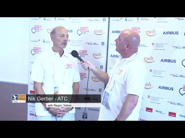 REPLAY - Coupe Aéronautique Gordon Bennett 2018 - Interview Nik Gerber